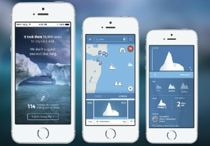 IcebergFinder.com is the world's first mobile-optimized site that tracks icebergs. Using real-time satellite data from NASA, this fully responsive site tracks and displays icebergs drifting along the coast, providing Google Map directions for visitors, and enabling photo sharing. The results? In 2019 alone, over 8.2 million page views, and 500,000 site interactions.