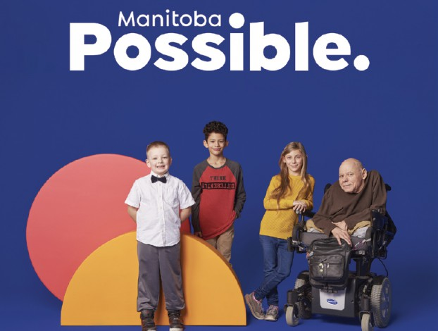 The Society for Manitobans with Disabilities (SMD) has been offering support programs and services for people living with disabilities since 1950. Since then, much has changed in the disability rights landscape. The organization wanted all Manitobans to stop focusing on disabilities and instead work to remove barriers to full and equal participation for all. Collaborating with stakeholders at all levels, UpHouse developed a new name that focused on what's possible for individuals with disabilities: Manitoba Possible. The brand launch entailed a new logo, graphic standards manual and a series of videos.