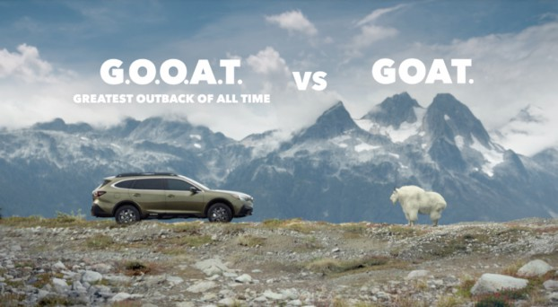 Subaru recorded their greatest Outback sales of all time with the launch of the G.O.O.A.T. campaign. The unconventional idea earned four Golds and Best of Show at the CMA awards.