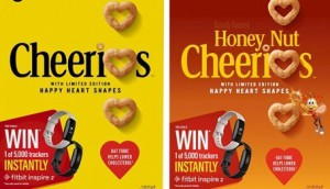 General Mills Canada-Cheerios Changes Iconic O-s into Happy Hear