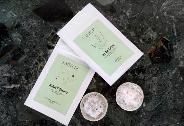Latitude bath salts