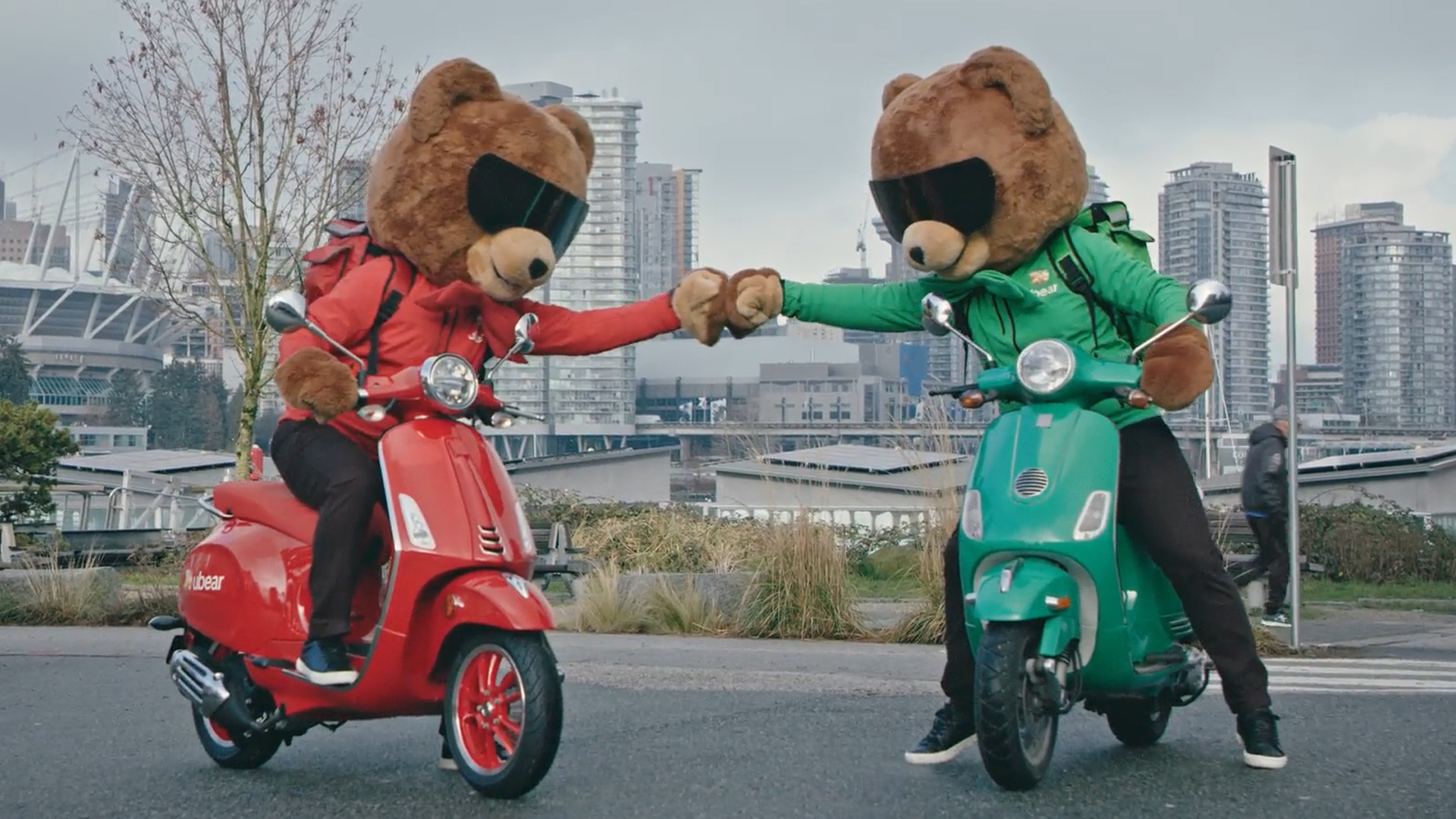 UBEAR_Press_FistBump Vespas_No Logo
