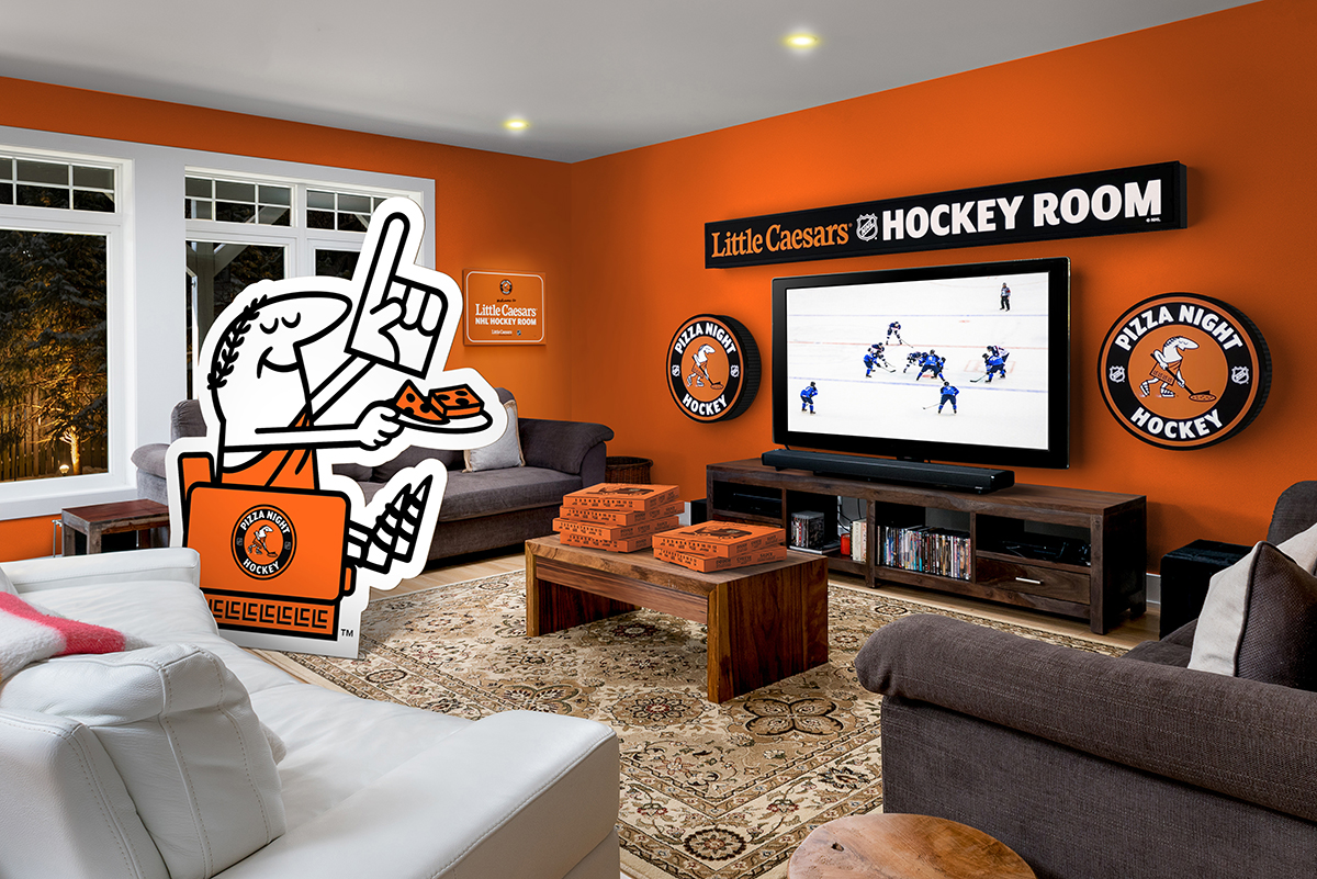 Little Caesars wants naming rights for your living room