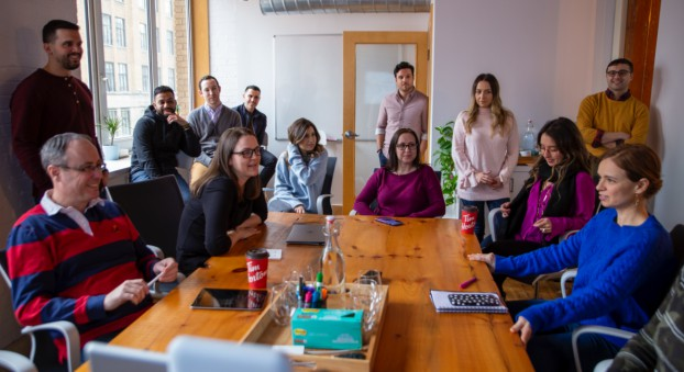 The 55 Rush team is looking at building out its community hubs to encompass French-language content as well as U.S. market expansion.