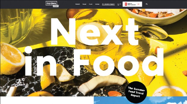 Globe Content Studio played up readers' passion for food with the relaunch of the iconic PC Insiders Report. From a 'Next in Food' trend feature from Galen Weston, to videos on how to 'Work With What You Got,' to Spotify-inspired recipe playlists, it's a complete digital reimaging of an established brand.