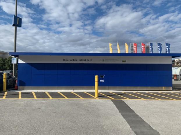 IKEA lockers