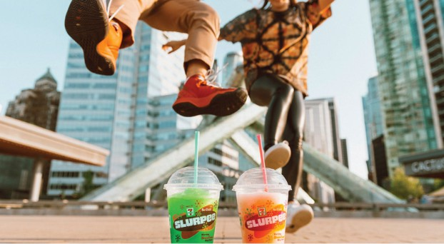 Dance The Slurp, an original recording produced by 7-Eleven, is a catchy retro tune from the late 60s. Thinkingbox and AntiSocial remixed the track to create a #DanceTheSlurp social media dance challenge that generated buzz across Canad