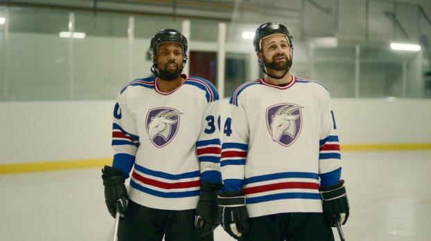 """Giants & Gentlemen provided creative for Harvey's humorous """"Be a Burger Boss"""" campaign. In this spot, a hockey team is surprised to find its practice taken over by its towel boy, who is emboldened by getting to call the shots on his Harvey's hamburger toppings."""