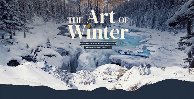 """Travel Alberta knew vacationing wasn't an option for Canadians stuck at home, so it partnered with Initiative and The Globe & Mail on """"The Art of Winter."""" The campaign recruited 10 local artists to create a multimedia hub of original poetry, installations, paintings and music to get readers dreaming about travel again."""