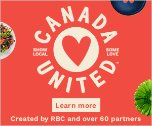 """The RBC """"#CanadaUnited"""" campaign was a nationwide movement leveraging digital engagement as the currency of success. The goal was to support the local small businesses economy and create momentum to spend locally"""
