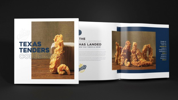 How do you generate excitement among millennials for a new line of breaded chicken and shrimp tenders? You pretend they're a fashion item and launch them like you would a sneaker drop. For Church's Chicken's Texas Tenders, Wunderman Thompson created a lookbook with beauty shots and clever product names such as 'The Lone Star' and 'The Longhorn.'