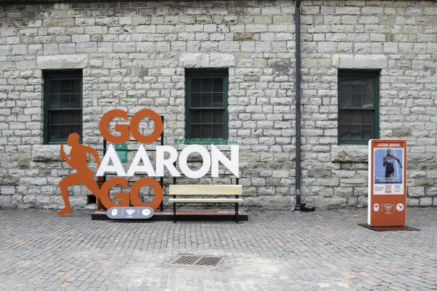 Aaron Brown Canadian Tire Celebration Wall at The Distillery District 0P0A9307 HERO SHOT 2