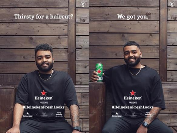 Heineken-haircuts