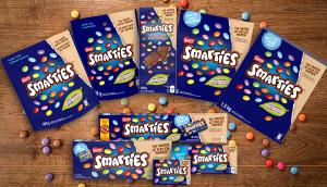 Smarties packaging