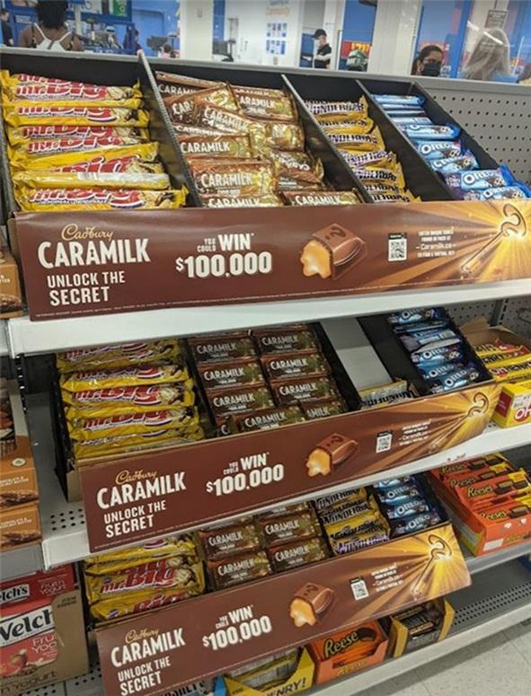In-store Caramilk